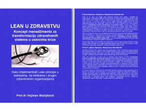 Korice za knjigu Lean u zdravstvu