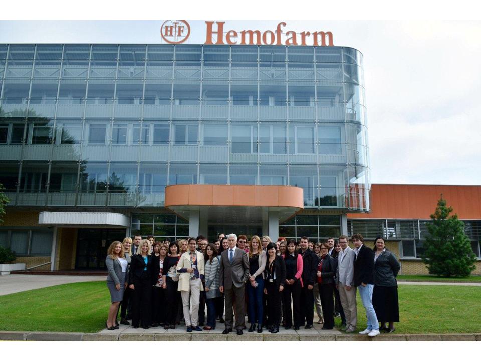 Hemofarm 06 oktobar 2015 grupni snimak