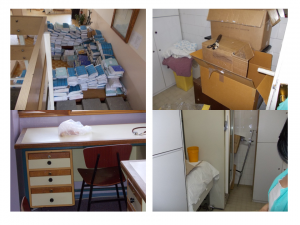 Zatečeno stanje na klinikama pre Kaizen događaja 2
