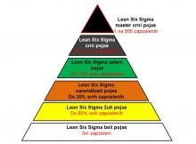 Infrastruktura kadrova za Lean Six Sigma koncepte