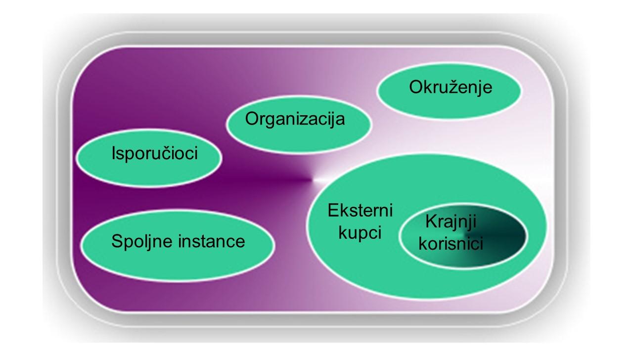 Šire okruženje sistema organizacije