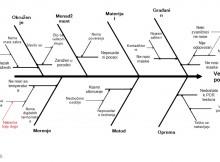 Slika 12 Ishikawa dijagram za veliki broj pozitivnih